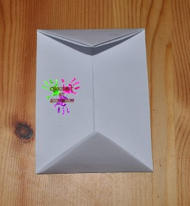 Boîte en papier Caillotte - étape 12