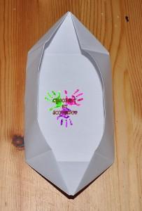 Boîte en papier Caillotte - étape 13