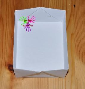 Boîte en papier Caillotte - étape 14
