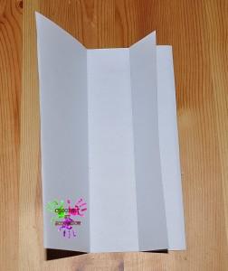 Boîte en papier Caillotte - étape 2