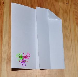 Boîte en papier Caillotte - étape 3