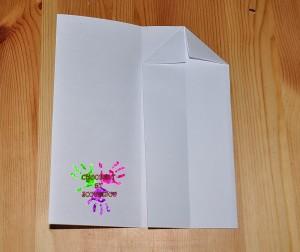 Boîte en papier Caillotte - étape 4