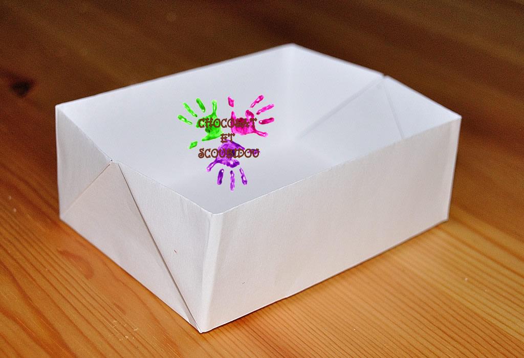 Boîte en papier Caillotte