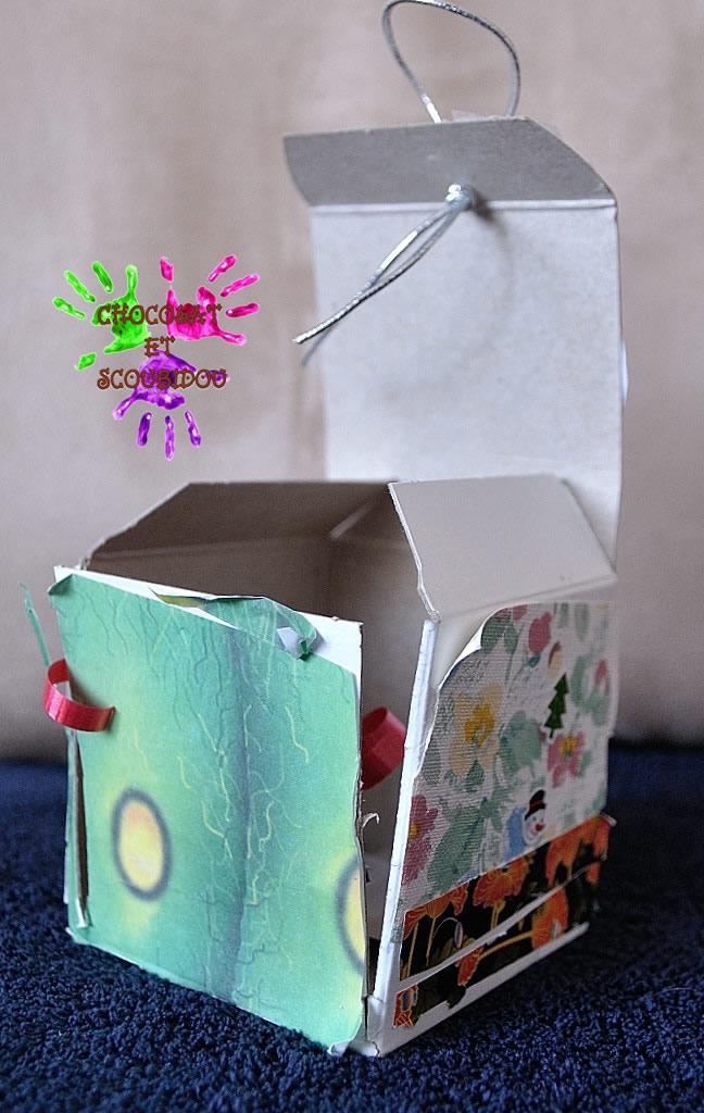 Carte de voeux cubique - Grande Louloute - fermée de face