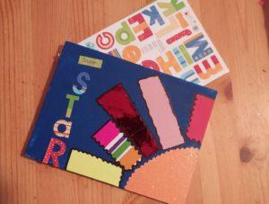 Tableaux ensoleillés - Choix des lettres