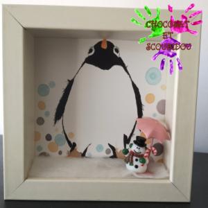Cadres animaux - pingouin