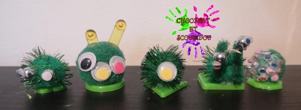 Tic Tac Toe des monstres - équipe des verts