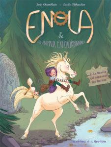Enola et les animaux extraordinaires - La licorne qui dépassait les bornes