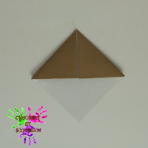 Marque-page en origami - étape 10