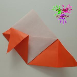 Marque-page en origami - étape 12