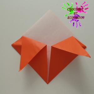 Marque-page en origami - étape 13