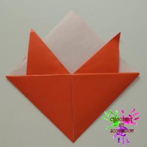 Marque-page en origami - étape 14