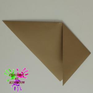 Marque-page en origami - étape 3