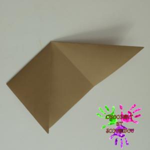 Marque-page en origami - étape 5