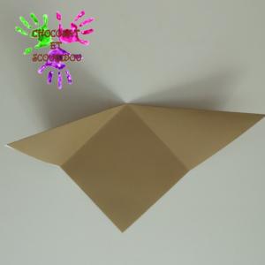 Marque-page en origami - étape 6