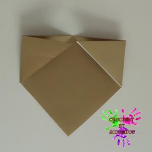 Marque-page en origami - étape 7