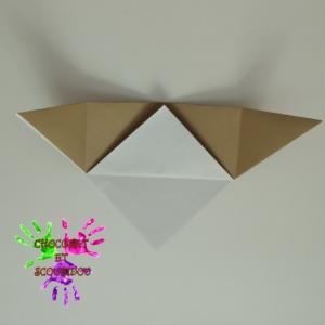 Marque-page en origami - étape 9
