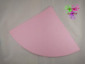 Lapin en papier - étape 1