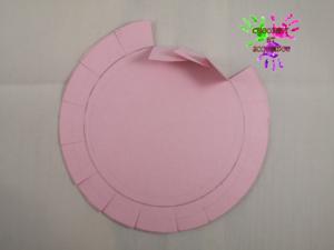 Lapin en papier - étape 5