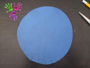 Poule en papier - étape 4