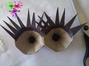 Poule en papier - étape 8